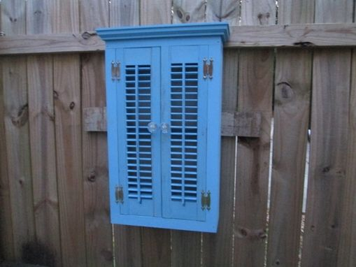 Custom Made Cabinet Shutter Style