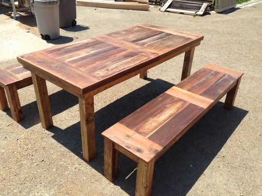 Custom Made Farm Tables And Benches