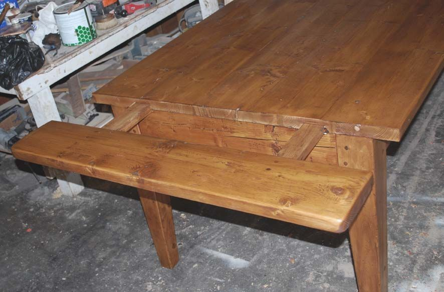 Extendable Farmhouse Kitchen Table