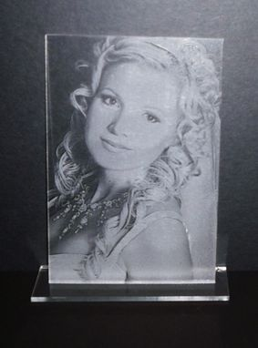 Custom Made Photo Engraving On Acrylic