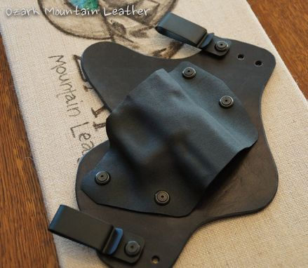 Custom Made Holster For A Walther Ppx, Inside Belt