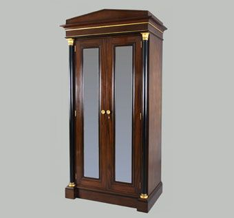 Custom Made Mahogany Armoire