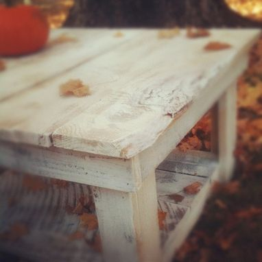 Custom Made Barnwood Coffee Table (Neufield Collection)