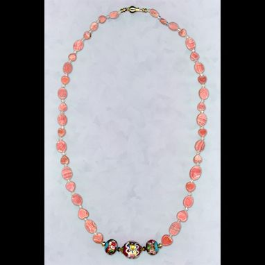 Custom Made Rhodochrosite Necklace