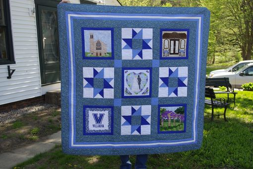Custom Made Wedding Quilt