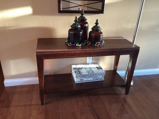 Custom Made Cherry Entry Table