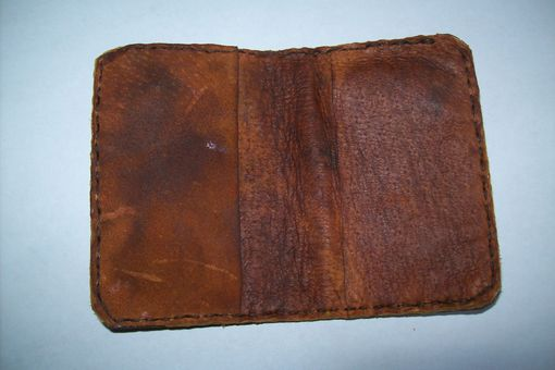 Custom Made Leather Card Holder