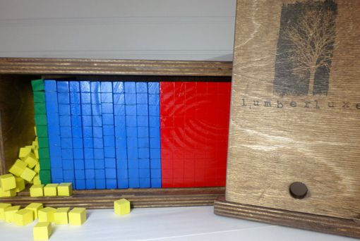 Custom Made Base Ten Block Set