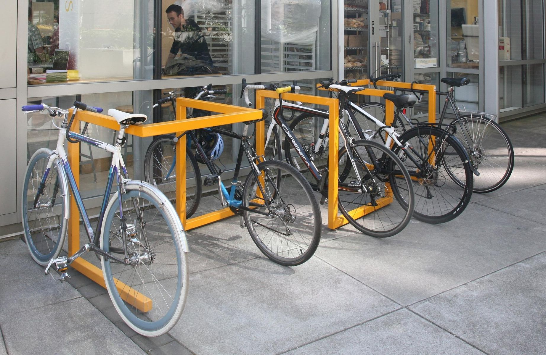 Hand Made Steel Bike Rack By Fix Studio Custommade Com