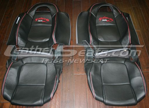 Hand Made Custom Chevrolet Ssr Italian Leather Interior By