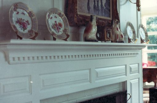 Custom Made Laura's Formal Painted Mantle