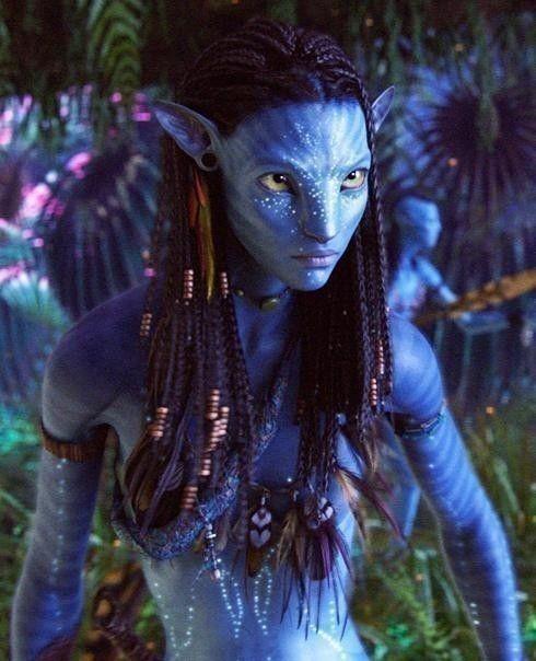 Navi Avatar: Hand Made Neytiri Halloween Costume Choker Necklace Avatar