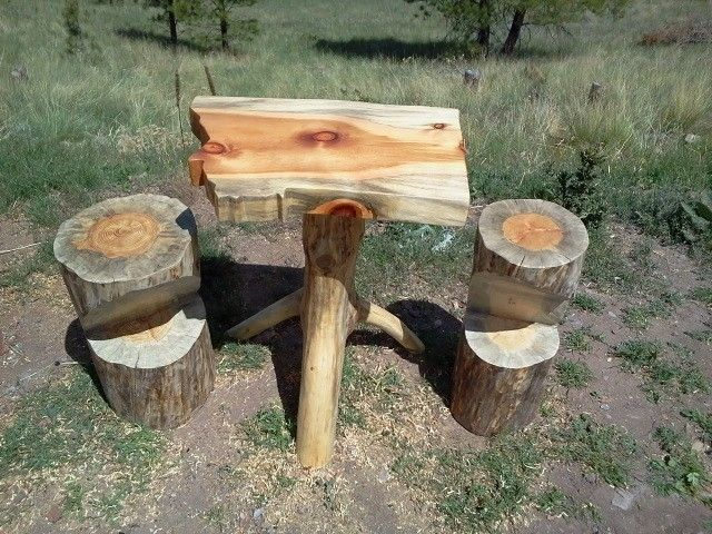 Handmade Log Bars And Tables By Sweet Logs Custommade Com