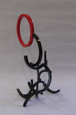 Custom Made Metal Ring Sculpture #3