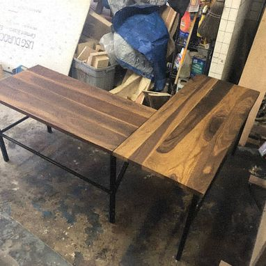 Custom Made L Shaped Desk