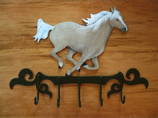 Custom Made Handcrafter Horse Coat Rack