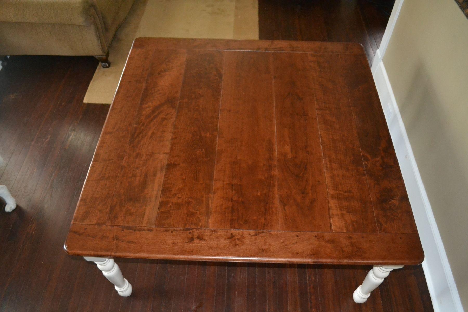 Handmade cherry kitchen table by bucks county craftmasters custom made cherry kitchen table workwithnaturefo
