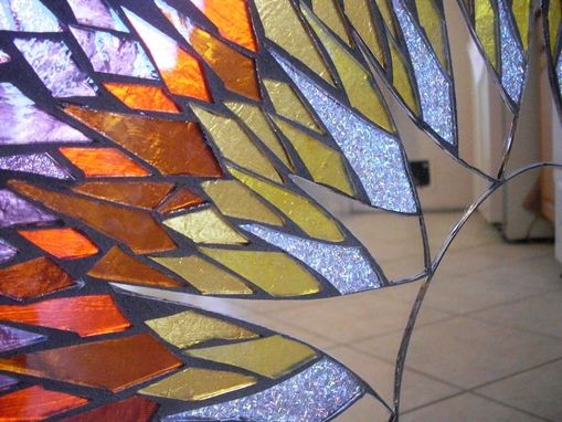 Buy Handmade 24 Quot X 24 Quot Mosaic Mirror Sunburst Stained