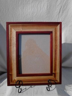 Custom Made Custom Exotic Picture Frame  8x10