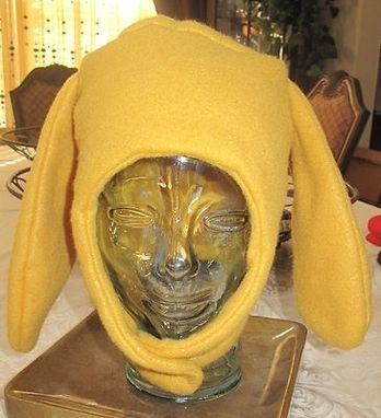 Custom Made Jake Adventure Time Yellow Fleece Ear Dog Ear Flap Hat In 6 Sizes