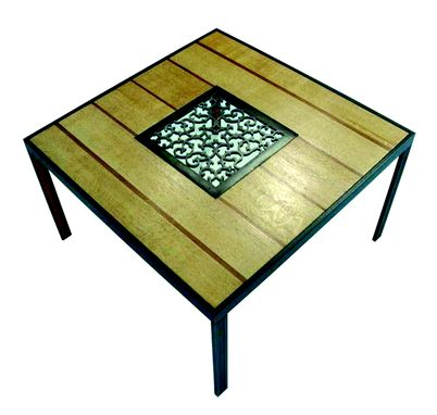 Custom Made Grate Table #4