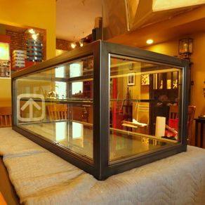 Display Case Glass Steel By Andrew Stansell