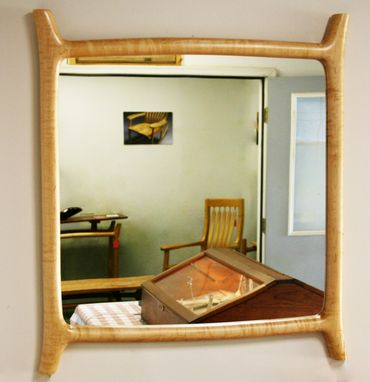 Custom Made Sculpted Hallway Mirror