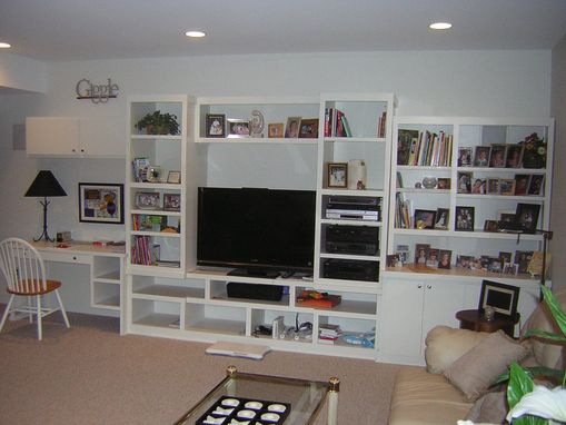 Custom Made Multi-Purpose Wall Unit