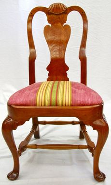 Custom Made Salem Queen Anne Side Chair