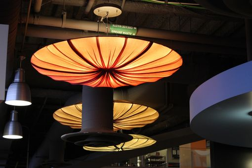 Custom Made Ceiling Light Lotus Flower