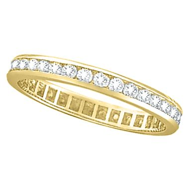 Custom Made 1.00ct Channel Set Diamond Eternity Ring Band 14k Gold