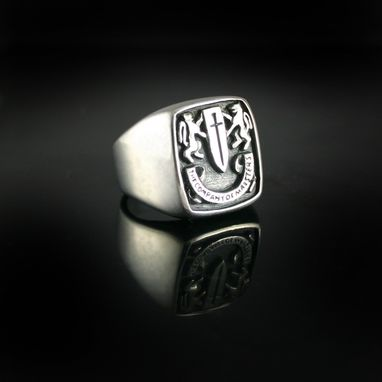 Custom Made Custom Mens Signet Ring