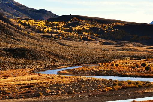 Custom Made Fine Art Photograph Of The West Walker River