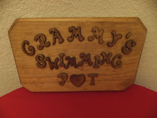 Custom Made Personalized Wooden Plaque