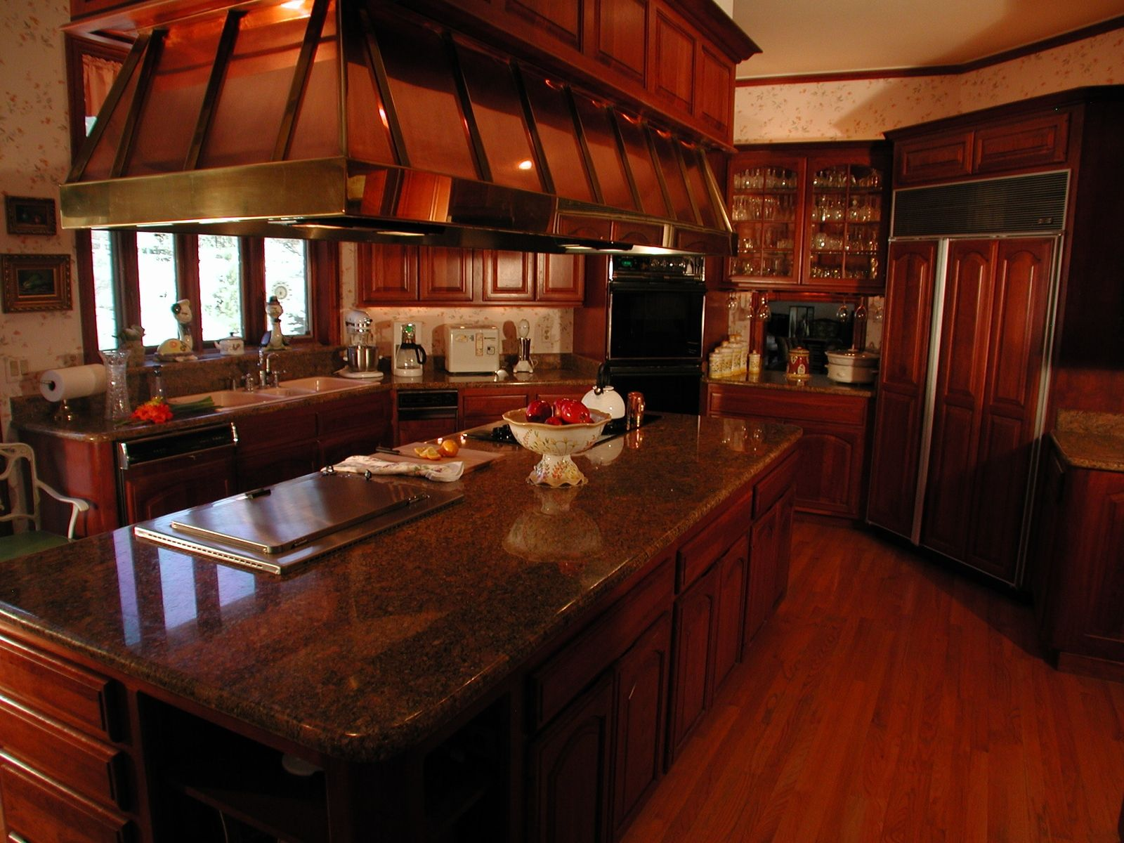 Hand Made Looking Back 25 Years, A Clic Kitchen Remodel by ... Kitchen Design Furniture Look on french cottage look kitchen, vintage look kitchen, cafe look kitchen, industrial look kitchen,
