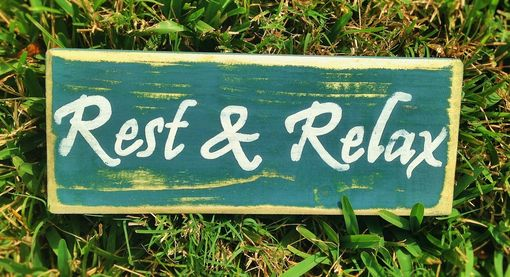 Custom Made Rustic Custom Shabby Chic Wood Signs Choose Color