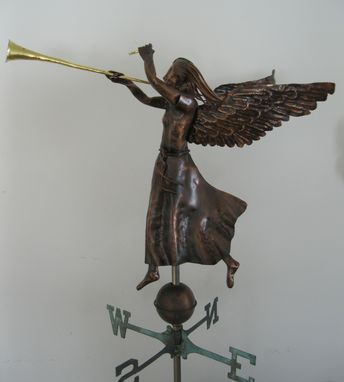 Custom Made Angel Weathervane