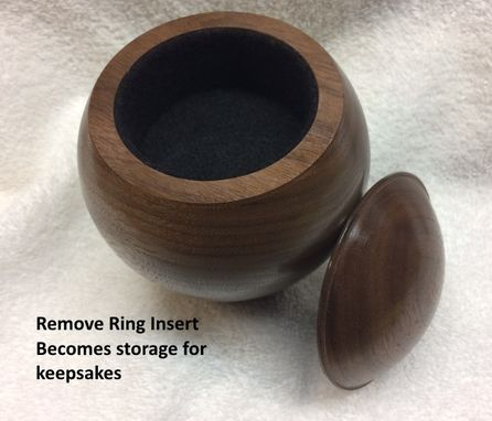Custom Made Engagement Ring Box