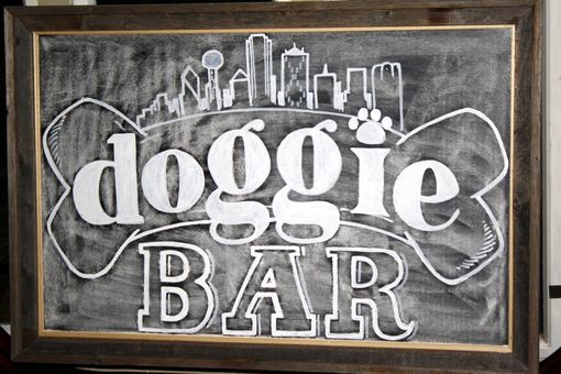 Custom Made Custom Business Chalkboards