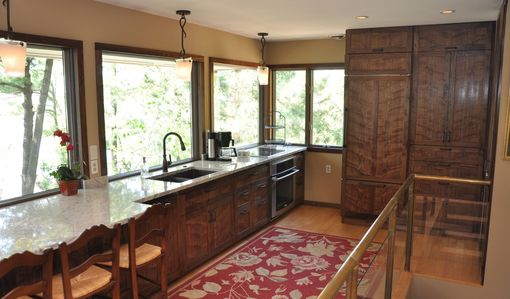 Custom Made Walnut Kitchen