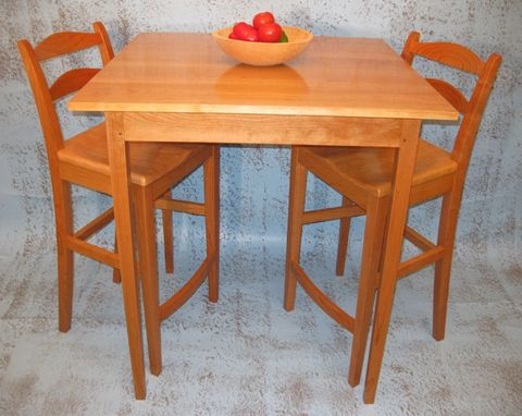 Hand Made Maine Stool By Stephen Adams Fine Furniture