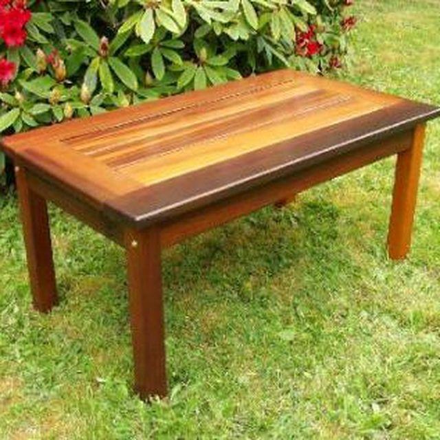 Custom Made Nootka Cedar Outdoor Furniture By Clayoquot Crafts