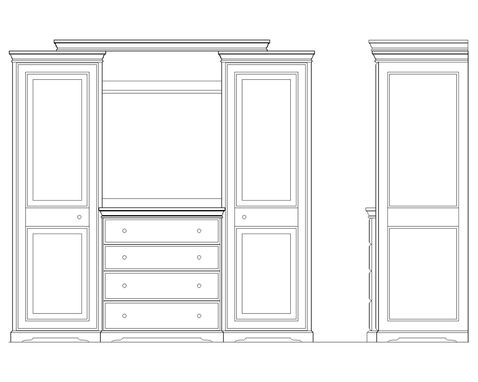 Custom Made Armoire