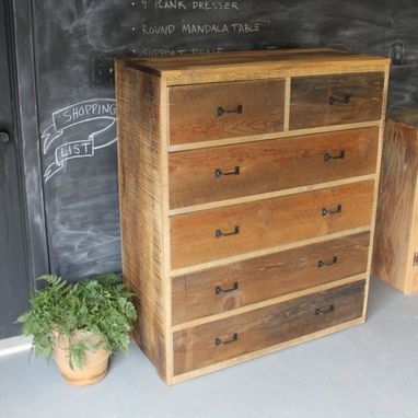 Custom Made Rustic Reclaimed & Sustainably Harvested Wood Dresser