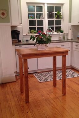 Custom Made Custom Kitchen Table