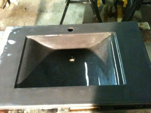 Custom Made Concrete Vanity Sink