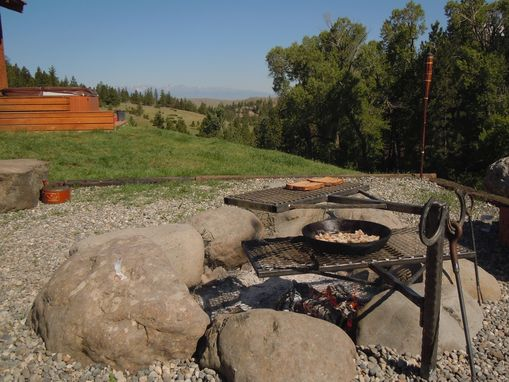 Custom Made Fire Pit Grille