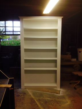Custom Made Painted Bookcase