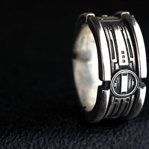 star wars engagement band - Star Wars Wedding Ring