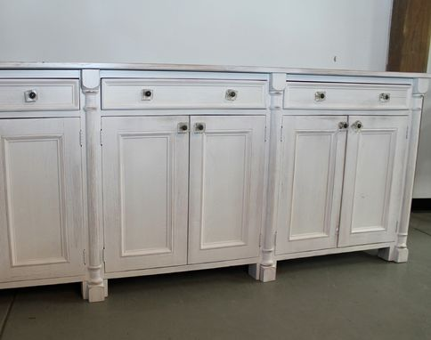 Custom Made Custom Made White Farmouse Buffet